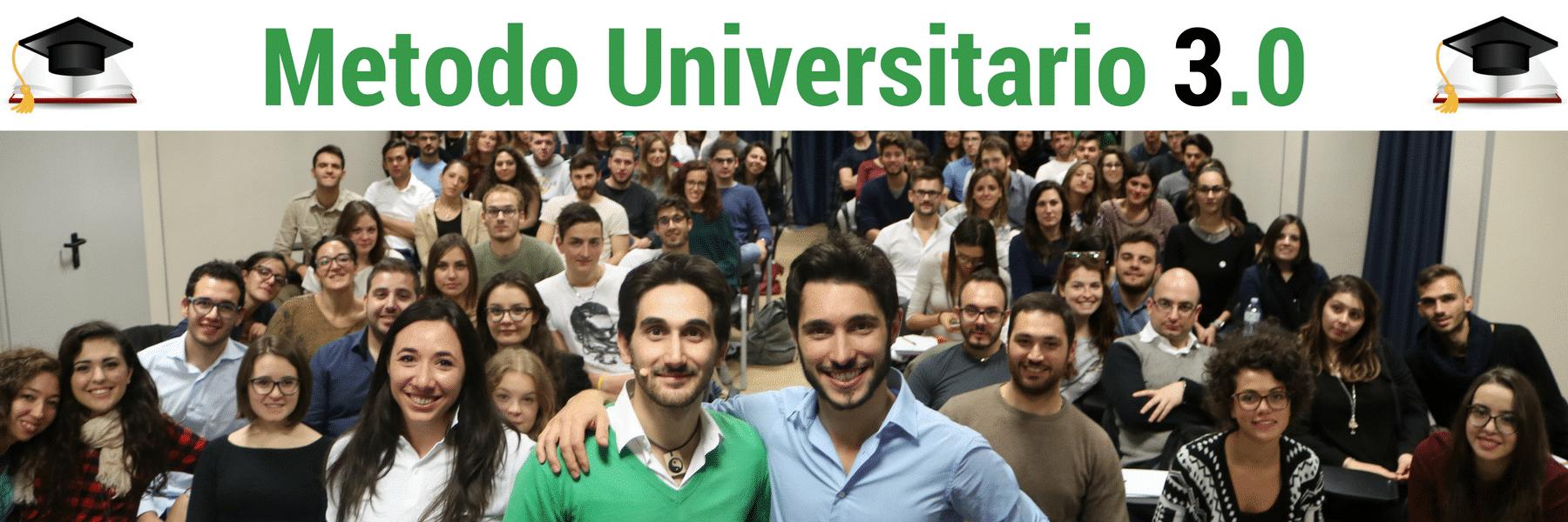 Metodo Universitario 3 - Registrazione ok