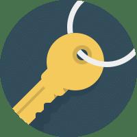 key - key