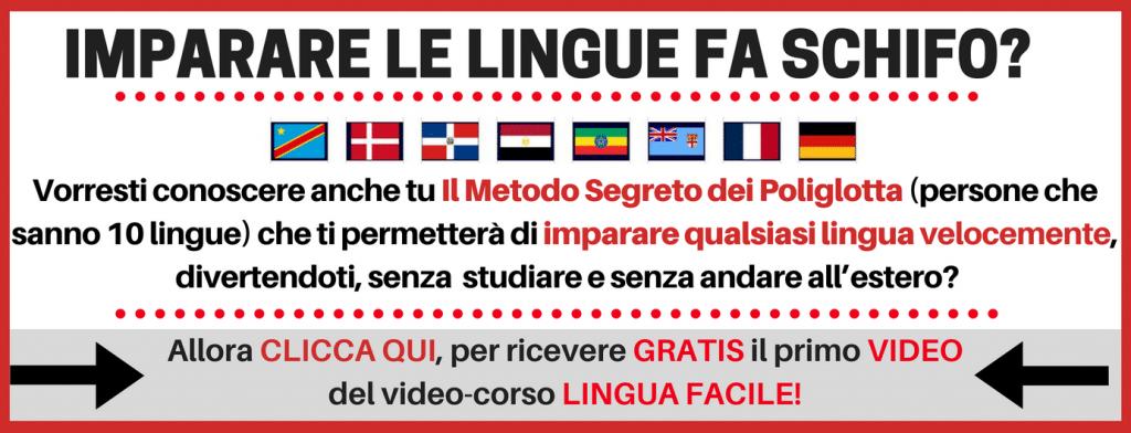 LINGUA FACILE - imparare l'inglese