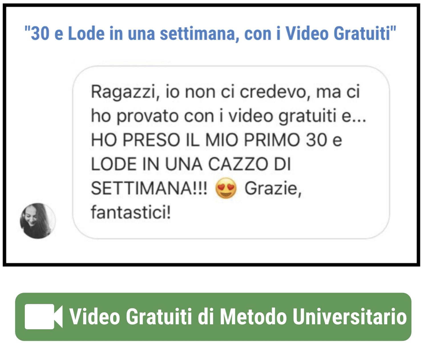 Test 1 - Metodo di Studio Universitario: la Guida Definitiva n.1 in Italia [OCME]