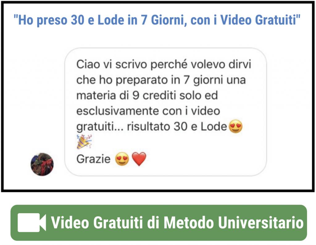 Test 2 1024x794 - Metodo di Studio Universitario: la Guida Definitiva n.1 in Italia [OCME]