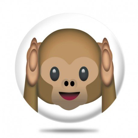 calamita emoticon scimmietta non sento monkey i do not listening - Palazzo della Memoria, come prendere 30 grazie a questa Tecnica di Memoria