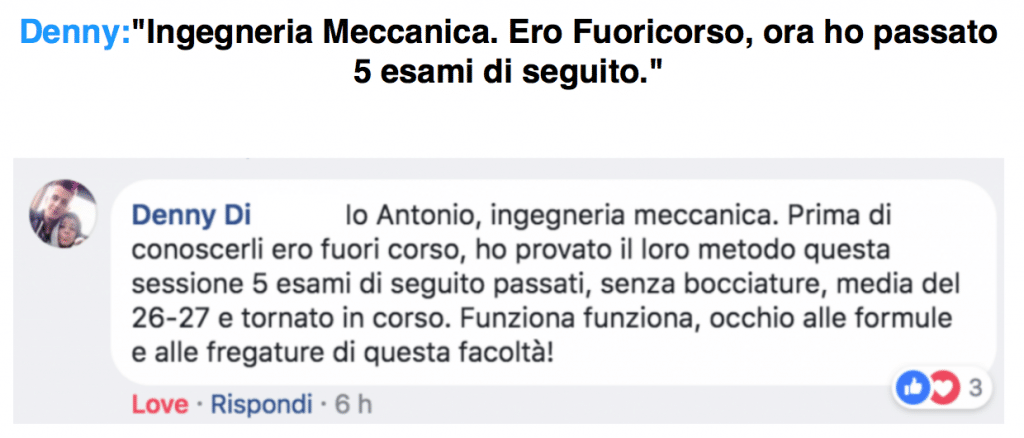 ingegneria meccanica - Laurea Lampo - Opinioni