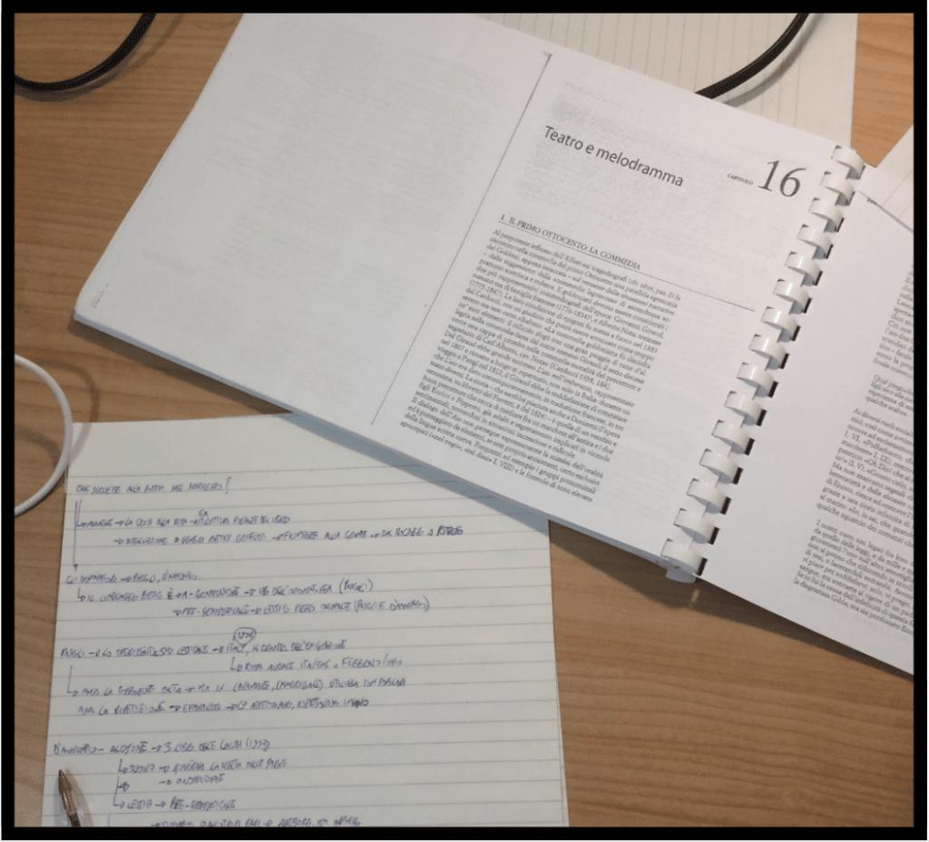 organizzazione metodo ocme metodo di studio 1024x929 - Metodo di Studio Universitario: la Guida Definitiva n.1 in Italia [OCME]
