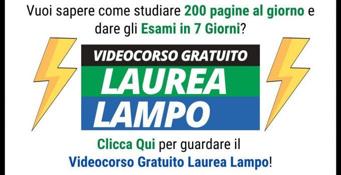 cropped photo 2020 04 25 17.05.01 680x350 - Laurea Lampo - il Webinar Gratuito per Studiare 200 Pagine al Giorno [Link e Opinioni]